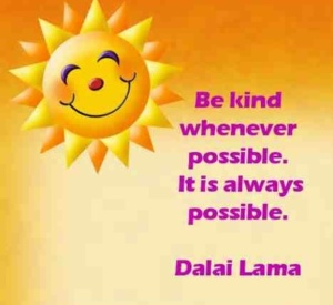 Be Kind Whenever Possible...